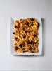 PENNE ALLA MEDITERRANEA 250 gr. NEGRINI - Macarrones con salsa mediterránea de aceitunas. Este es un producto congelado, solo es posible recogerlo en tienda.  Se ruega llamar al 91 5353728 para encargarlo. Gracias.