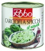 CARCIOFI SPICCHI AL NATURAL 2.650 gr. ROBO - Alcachofas en gajos al natural. Producto por encargo. Se ruega llamar a tienda (91 5353728) para solicitar este producto. Gracias.