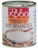 CREMA 4 FORMAGGI 850 gr. ROBO - Salsa de quesos.