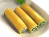 CANNELLONI DI RICOTTA SPINACI 1 kg. - Canelones rellenos de queso ricotta y espinacas. Producto congelado, sólo puede retirarse en tienda. Por favor llamad al 91 5353728 para encargarlo. ¡Gracias!